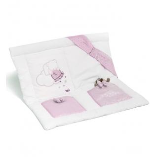 Карман Italbaby Настенный карман Polvere di Stelle розовый
