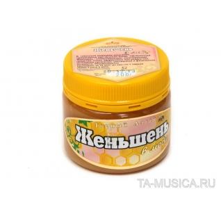Женьшень в меду 200 гр.
