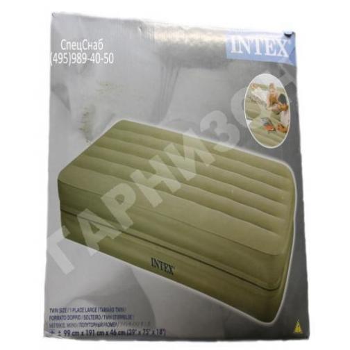 Односпальная надувная кровать Intex (без насоса)-8170169