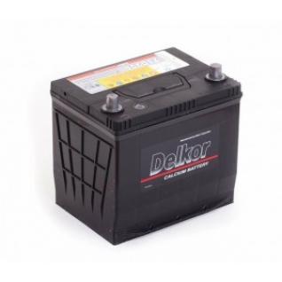 Автомобильный аккумулятор DELKOR DELKOR 65R (75D23L) 570А обратная полярность 65 А/ч (232x173x225)-5789460