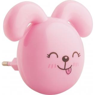 Ночник Feron FN1167 Зайчик, розовый-8164990