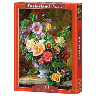 """Пазл """"Цветы в вазе"""", 500 элементов Castorland-37707981"""