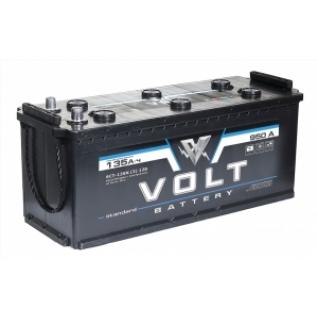 Автомобильный аккумулятор VOLT VOLT STANDARD 135 рус 950А прямая полярность 135 А/ч (513x189x218)-5789058