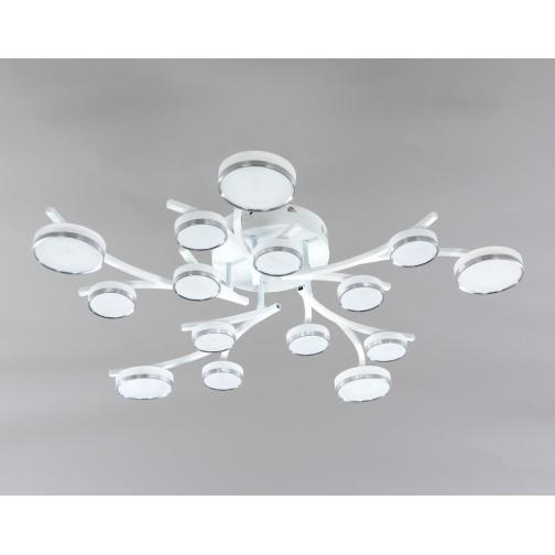 Elvan 1300-15 Люстра потолочная LEDх75 WH-2020946
