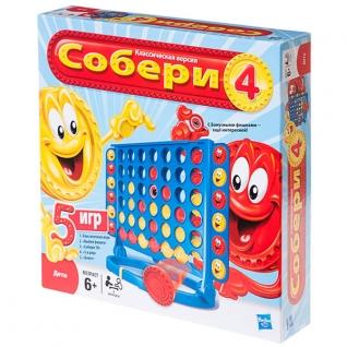 Настольная игра Собери группы /Connect 4