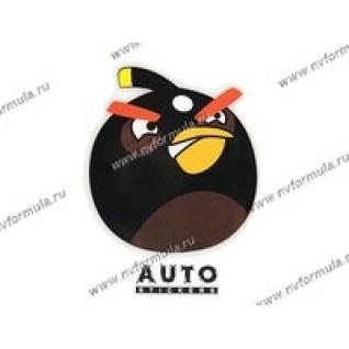 Наклейка Angry Birds черная 12,5x14,5-431429