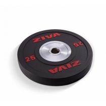 ZIVA Диск уретановый ZIVA ZVO-BDPU-3559 25 кг (красный)