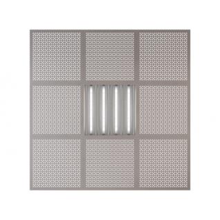 Потолочная плита Presko Верон 59.5х59.5 металлик