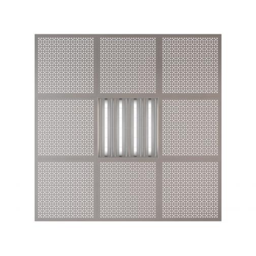 Потолочная плита Presko Верон 59.5х59.5 металлик-6768515
