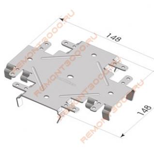 КНАУФ соединитель профилей ПП60х27мм 1-уровневый краб (50шт) / KNAUF соединитель профилей ПП60х27мм 1-уровневый краб (упак. 50шт.) Кнауф-37751287