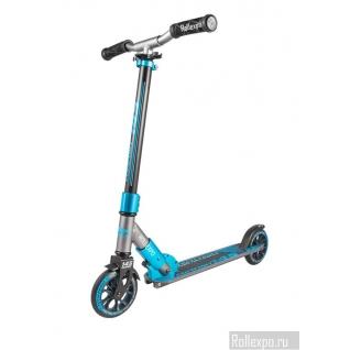 Детский самокат Tech Team TT Comfort 145 (серо-голубой) с колесами 145мм Techteam-37649431