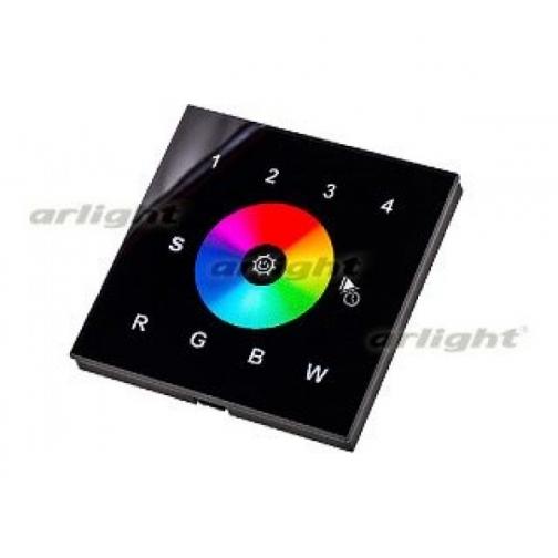Arlight Панель Sens SR-2820AC-RF-IN Black (220V,RGBW,4зоны) SL018069 9049989