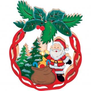 Световая фигура Feron LT084 Новогодний шар с Санта-Клаусом-8188810