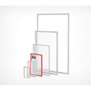 Рамка пластиковая А4, прозрачный, 10шт/уп