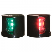 Огни бортовые светодиодные Lalizas 2шт. красный и зеленый, черный пластик (71317)