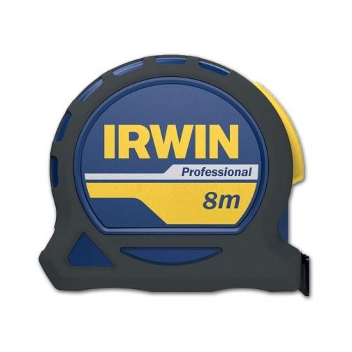 Рулетка Irwin 8м х 25мм PROFESSIONAL, магнит, нейлон, двухсторонняя разметка без упаковки-8161765