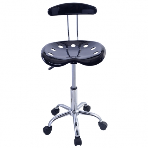 Барный стул ( Черный )-6405401