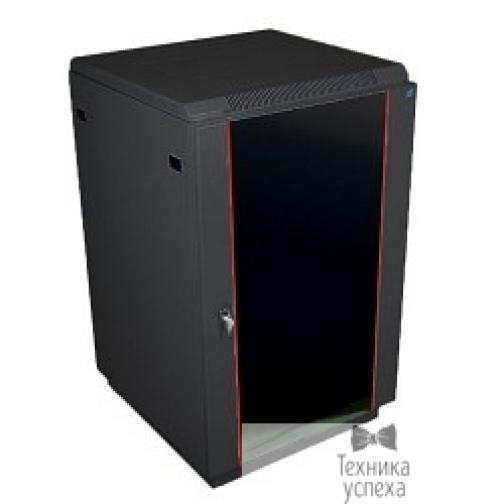 Цмо ЦМО Шкаф телекоммуникационный напольный 22U (600x600) дверь стекло, цвет чёрный (ШТК-М-22.6.6-1ААА-9005) (2 места)-7238759