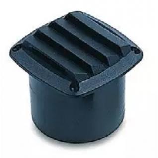 Решетка вентиляционная с патрубком ТMC, белая (10247846)