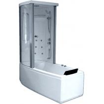 Акриловая ванна Gemy с гидромассажем (G8040 B)