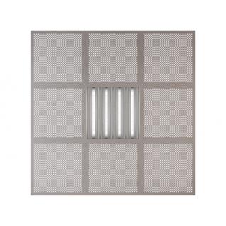 Потолочная плита Presko Глория 59.5х59.5 металлик