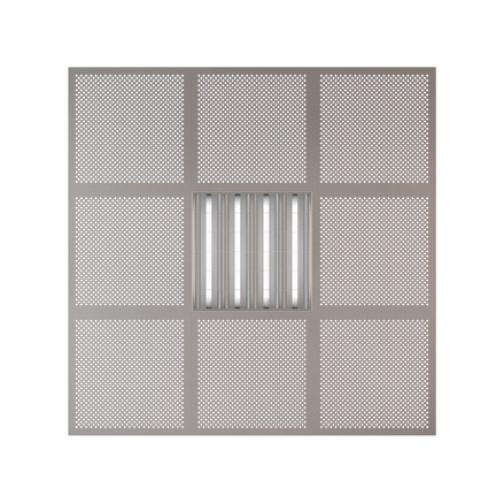 Потолочная плита Presko Глория 59.5х59.5 металлик-6768517