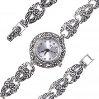 Часы из серебра с марказитом TEOSA HW-113-MAC