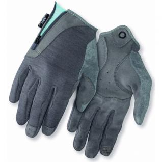 Перчатки RULLA, жен. длинные gray/milky blue, S