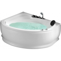 Акриловая ванна Gemy с гидромассажем (G9003 B)