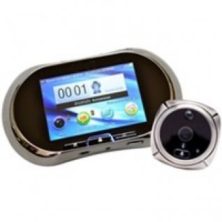 Видеоглазок с GSM модулем, записью на SD, монитором и датчиком движения R02 GSM-5006160