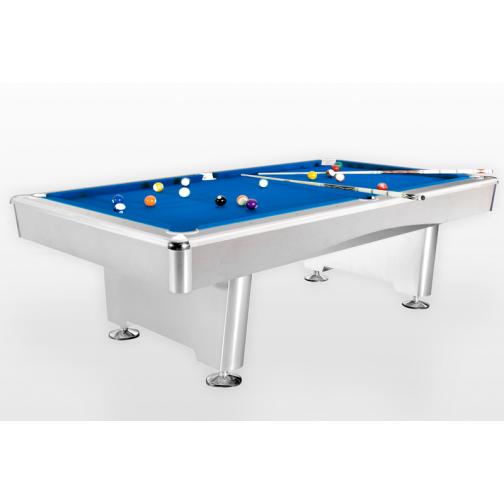 Бильярдный стол для пула Dynamic Triumph 8 ф матово-белый-865972