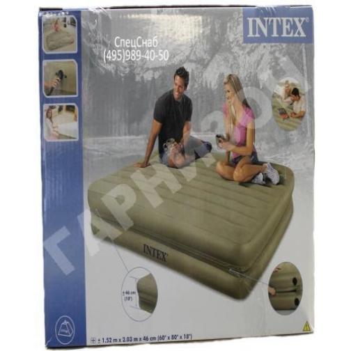 Двуспальная надувная кровать Intex (без насоса)-8170170