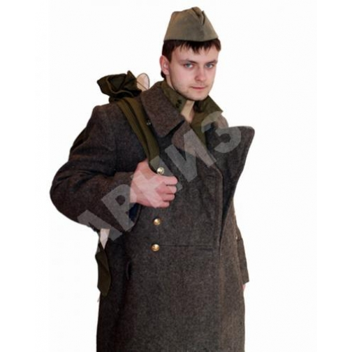 Шинель солдатская старого образца-9365