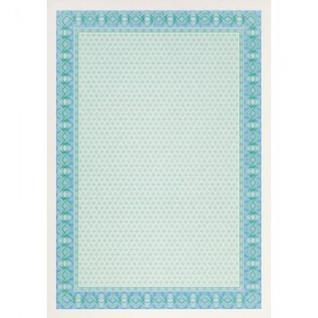 Сертификат-бумага DC-OSD4052 синяя рамка (А4,115г,уп.25л.)