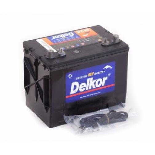 Аккумулятор лодочный DELKOR DELKOR MARINE M24MF (65L) 490А прямая полярность 65 А/ч (260x173x225)-5789449