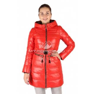 Куртка пуховик женский белого цвета оптом 6801-678456