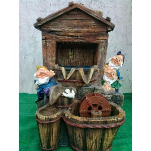 Декоративный фонтан | Настольный для дома | Гномы на шахте-5255119