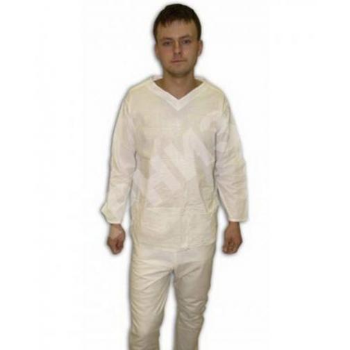 Белье нательное солдатское зимнее белого цвета-10900