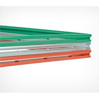 Рамка пластиковая А5, зеленый, 10шт/уп