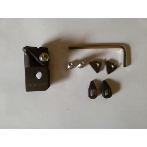 Резец-вставка ИР-394-02(3 винта, 3 прихвата, 3 опорных, 1ключ)-902801