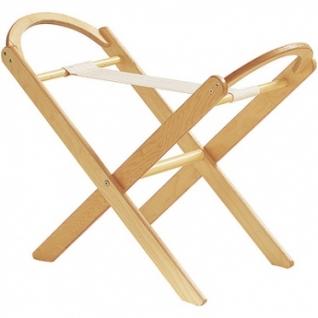 Подставка Italbaby Деревянная складная подставка для люльки, колыбели натуральная