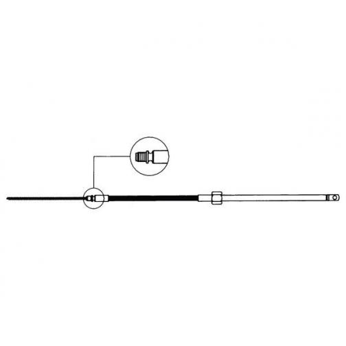 Ultraflex Кабель рулевой Ultraflex M58 35860K 3,05 м 216 мм-1211406