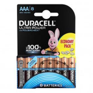 Батарейка DURACELL UltraPower AAA/LR03, 8шт/бл