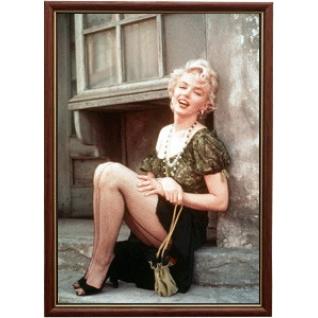Портрет актрисы Мэрилин Монро - 3 в рамке со стеклом 30х40-908154