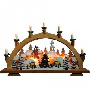 Световая фигура Feron LT082 Панно со свечами и ёлками-8188577