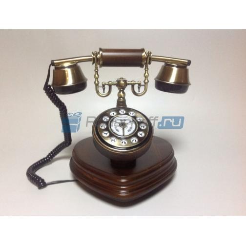 """Телефон кнопочный в стиле ретро """"Декарт""""-762802"""