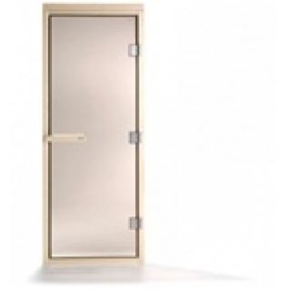 Дверь для сауны Tylo DGB 9x20 (прозрачная, сосна, арт. 91031922) без порога-6012321