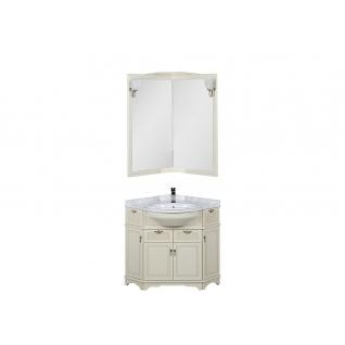 Комплект мебели угловой для ванной Aquanet 00167690-11491462