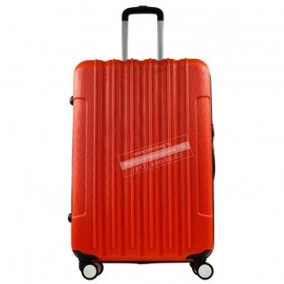 Monopol Чемодан пластиковый Monopol Vigo - Red (L)-6018806