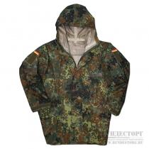 Made in Germany Куртка влагозащитная, Бундесвер, камуфляж флектарн, новая